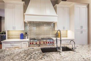 granite, marble or limestone quartz countertop