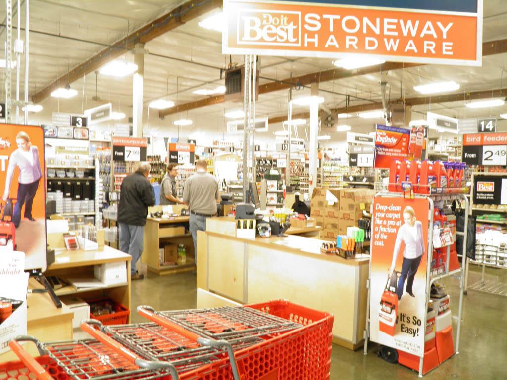 Inside Stoneway Hardware store in Seattle, WA - Seattle hardware stores near me - hardware store coupons near me