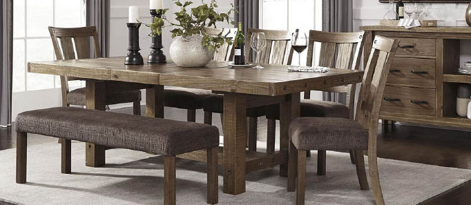 Dining room furniture set- Strands Home Furnishings - Monore, WA - Monroe furniture stores