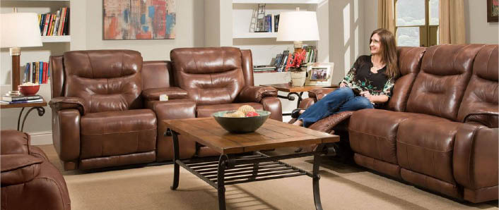 Gorgeous living room set with love seats and table - Strands Home Furnishings in Monroe, Washington - Monroe furniture stores