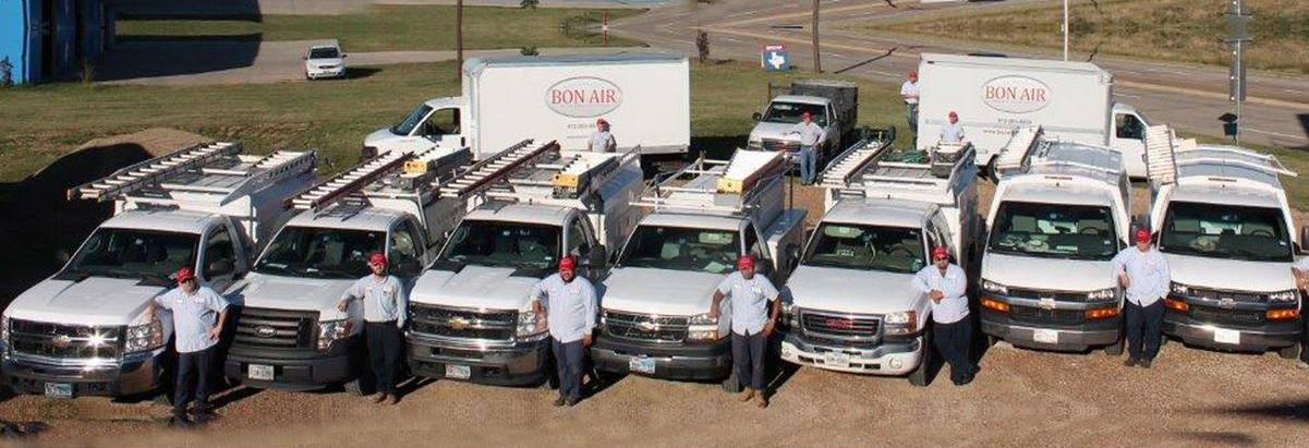 Bon Air Heating & Air Conditioning in TX banner