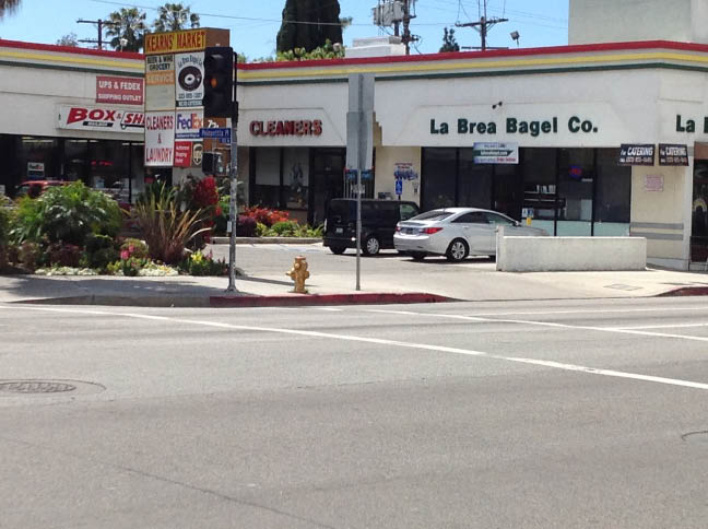Beverly Cleaners storefront in L.A.