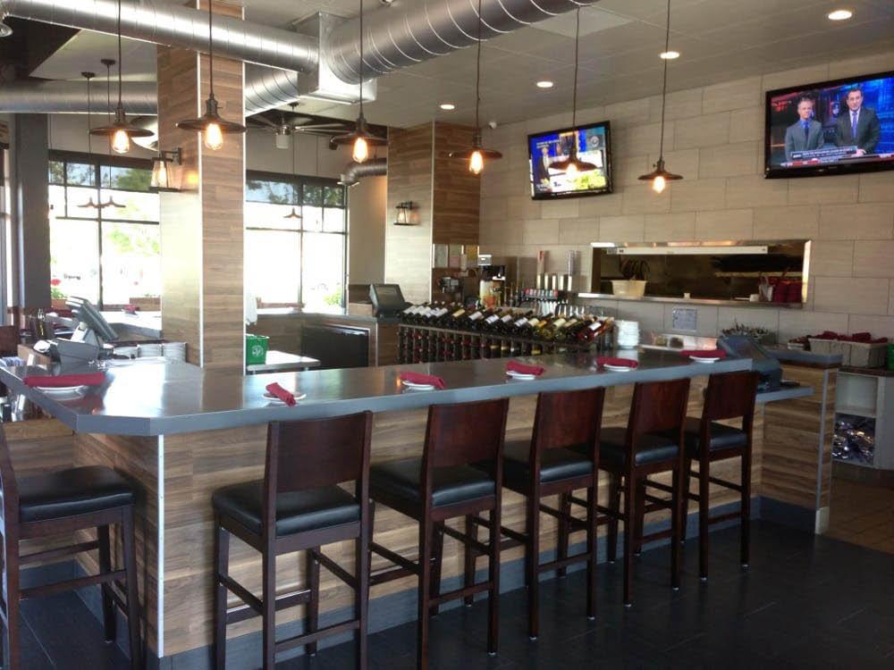 Strings Italian Cafe in Livermore, CA interior shot of restaurant