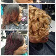 Professional Hair Stylist,  Pivot Point Beatty School graduate.