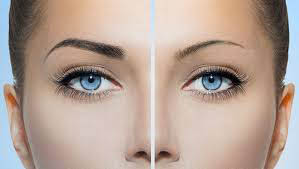 Eye treatment at nail salon near Hollywood