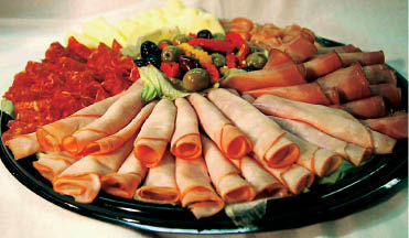 Cold Cut Platters catered by Sub Pub in Chester NJ