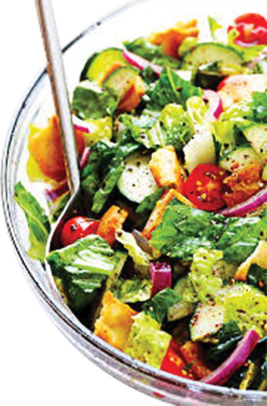 photo of salad from Submarina Subs & Shawarma in Wyandotte, MI