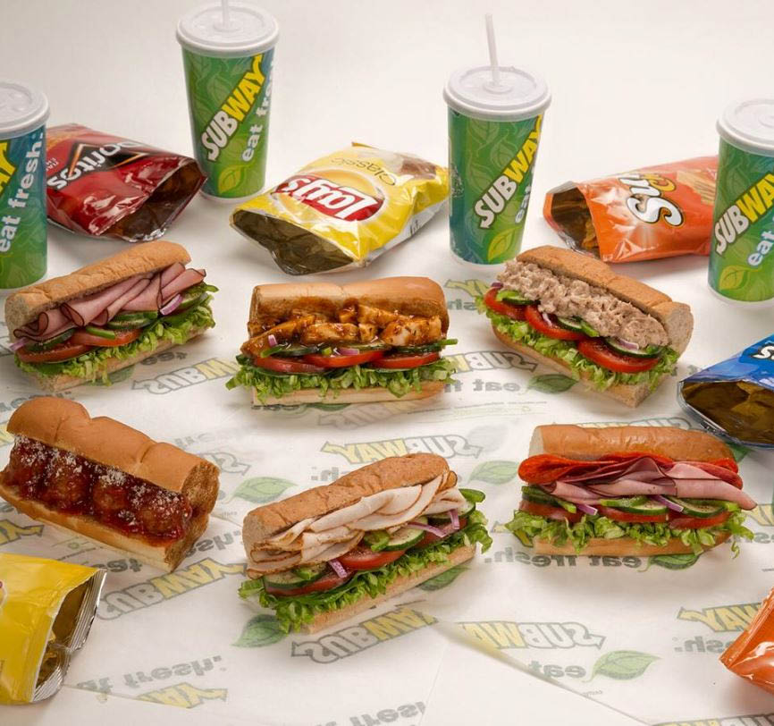 Meal of the Day at Subway in Tacoma, WA or Lacey, WA