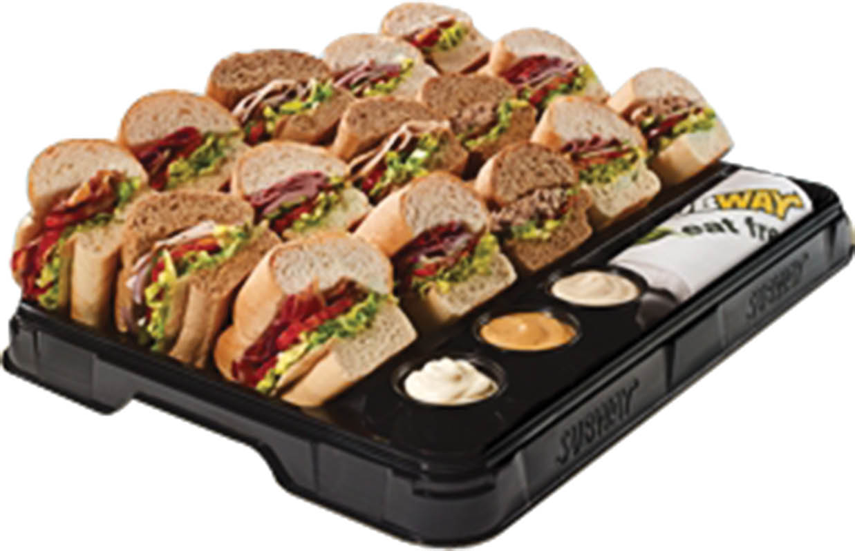 Wide variety of subs and sauces for great work events