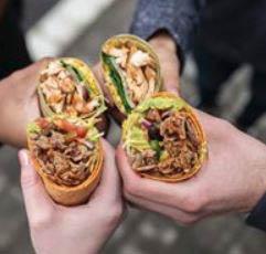 wraps, lunch, snack, sandwich