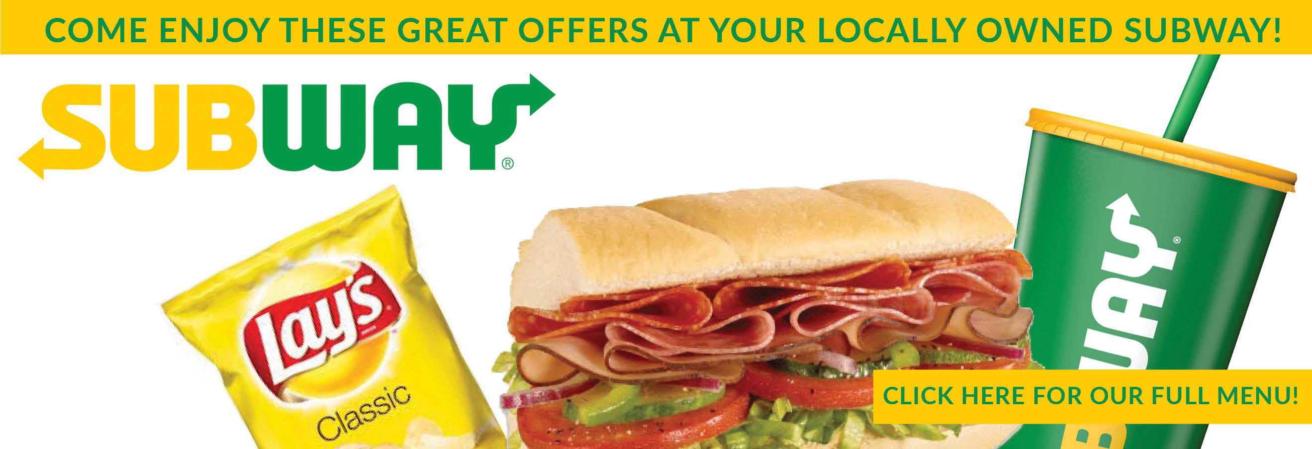 Breakfast, Lunch, Dinner, Subs, Subway, cookies, Chips, Fresh, Fresh Subs, Healthy, soups