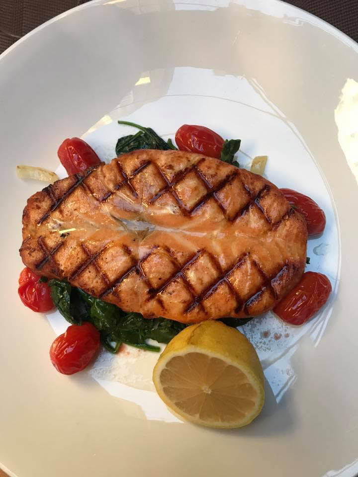 Delicious Turkish Grilled Salmon
