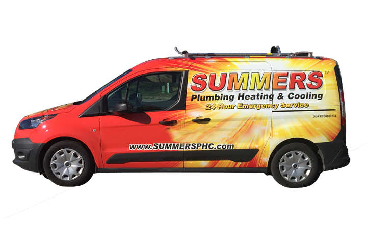 Summers HVAC Heating Cooling plumbing discount coupon air service repair