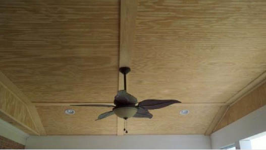 Build a new porch and add a ceiling fan in Sterling, VA