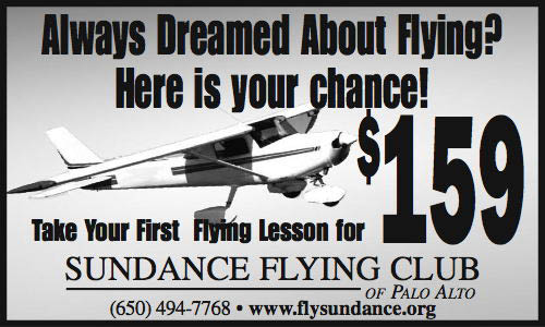 Flying lessons in Palo Alto start as low as $159.