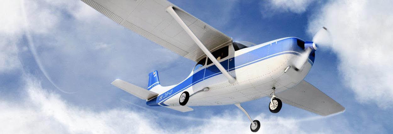 Sundance Flying Club in Palo Alto, CA banner ad
