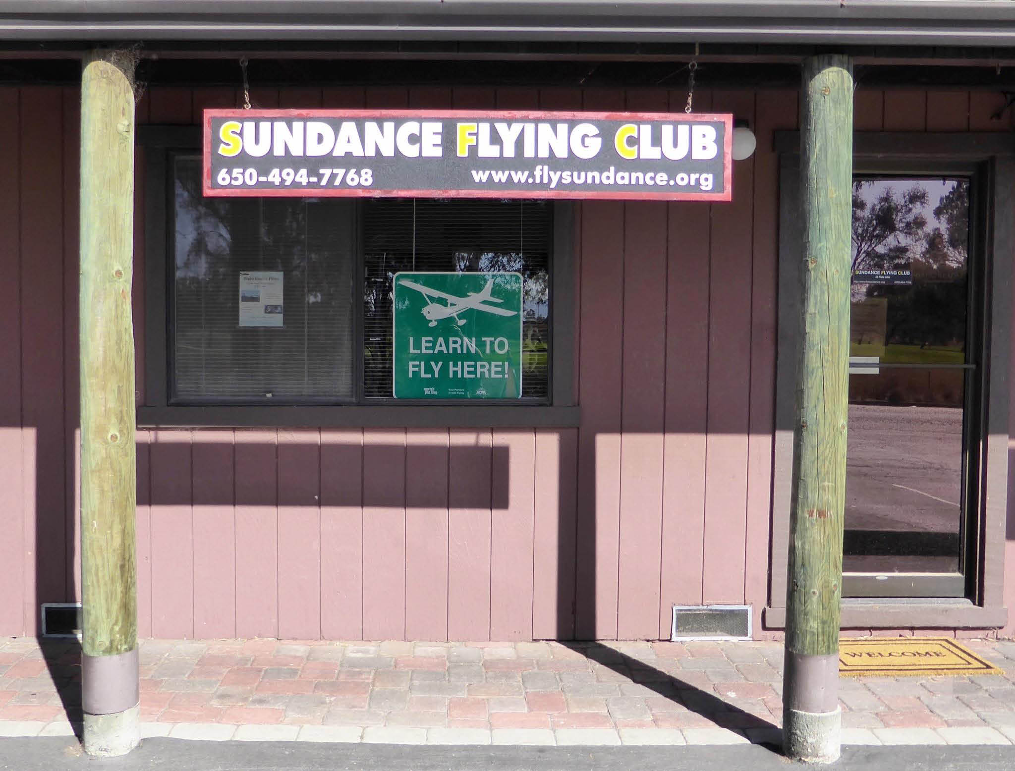 Learn how to fly at Sundance Flying Club in Palo Alto.