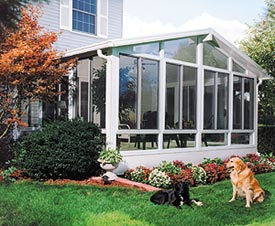A factory-direct sunroom can bring the outdoors inside where you'll stay warm