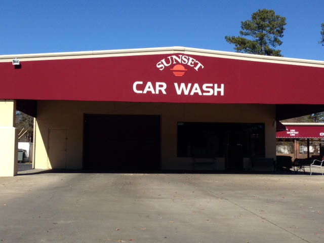 SUNSET CAR WASH AND DETAIL SHOP IN LEXINGTON/COLUMBIA SOUTH CAROLINA!