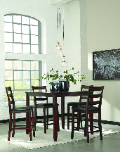 wooden dining table sunshine furniture tulsa oklahoma