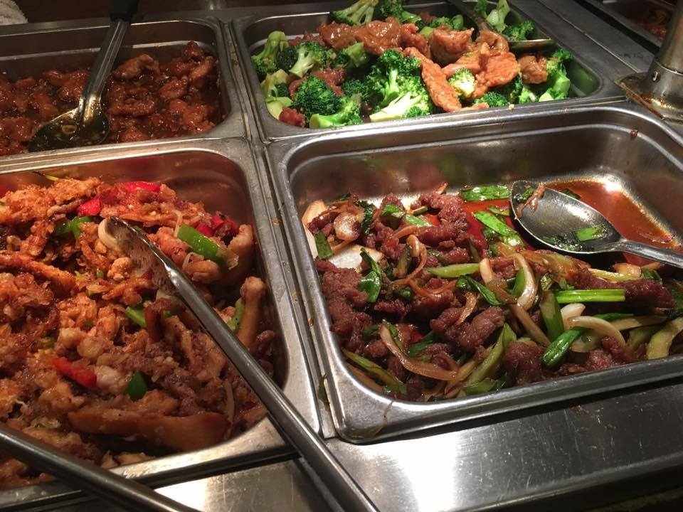 Buffet meat dishes near Rohnert Park, CA