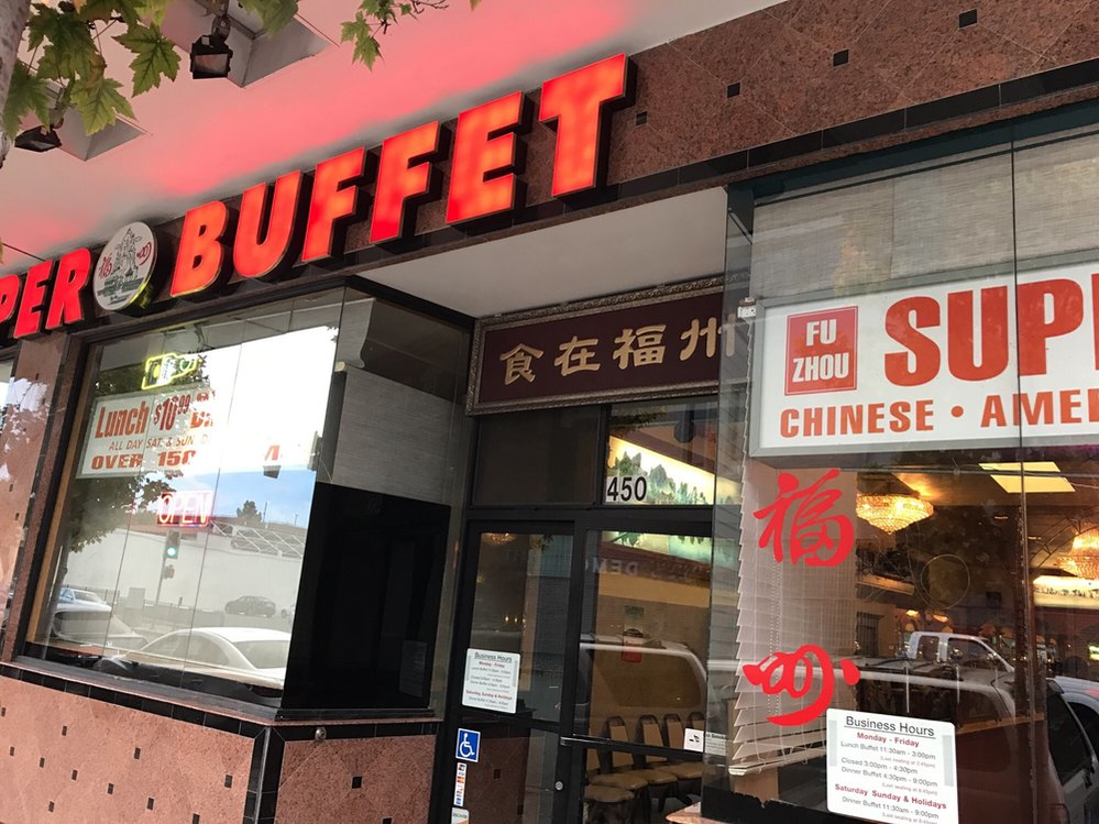 Chinese, Japanese, and American Buffet dishes in Santa Rosa, CA