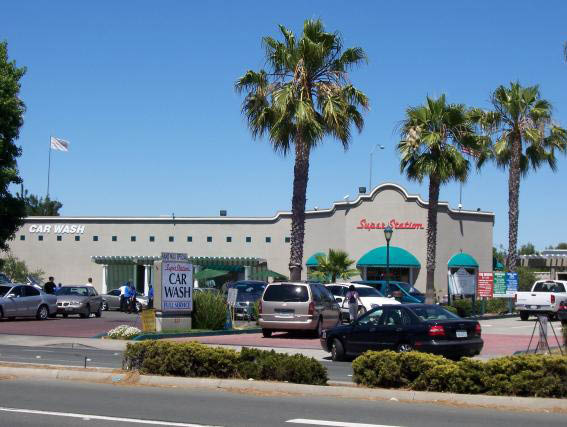 Super Station in Concord, CA full exterior shot of business image