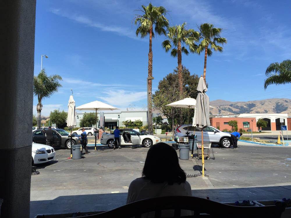 Super Station in Fremont, CA car wash waiting area image