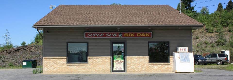 Super Sub & Six Pak in DuBois, PA Banner ad