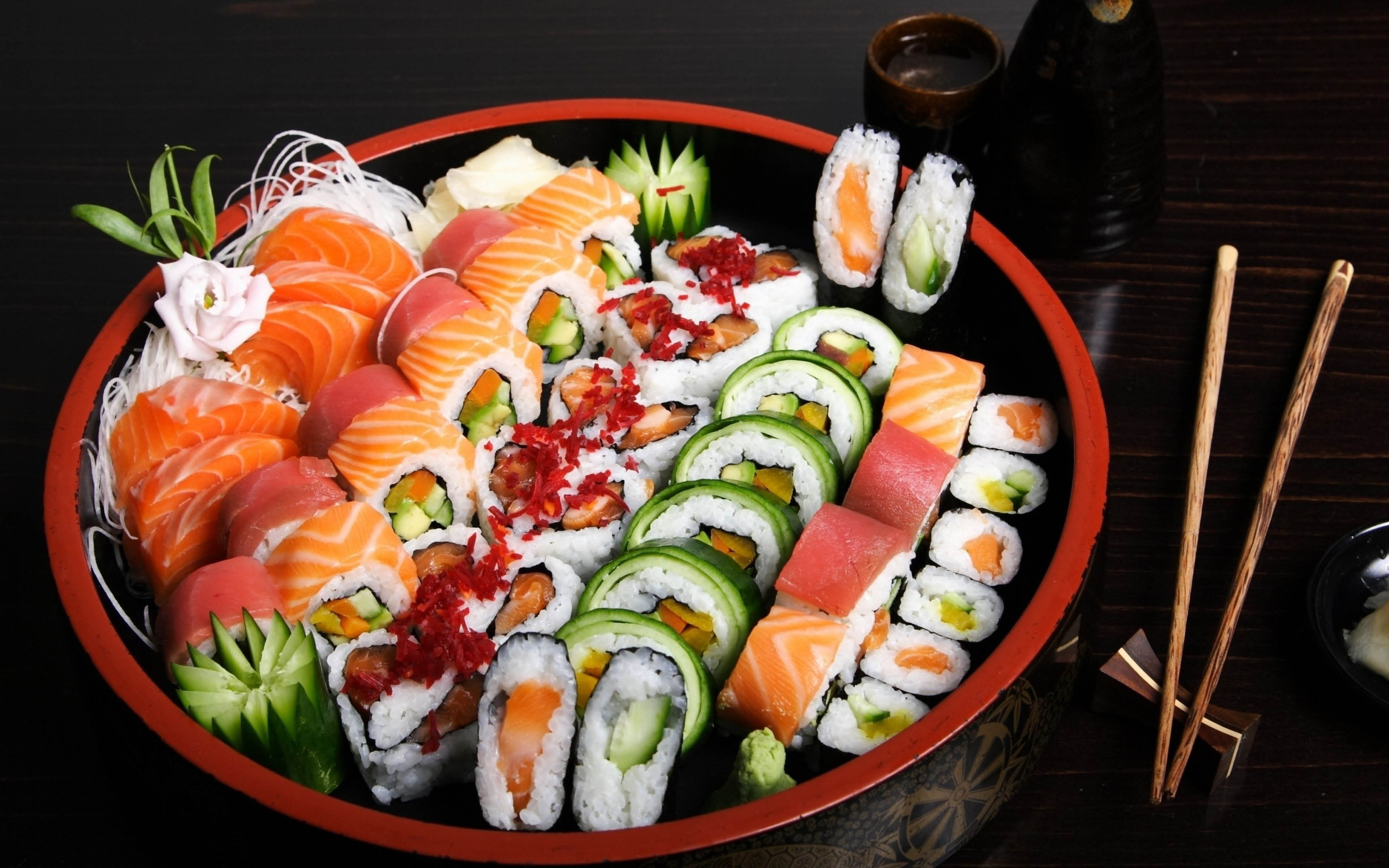 Sushi from Super 99 Buffet and Sushi Woodbury, Mn