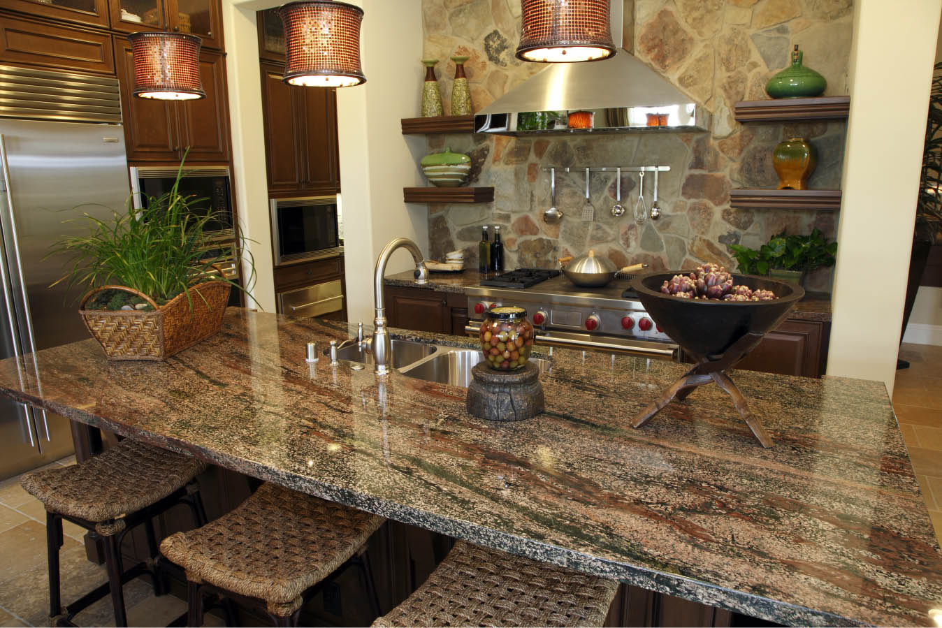 Granite Colors For Kitchen