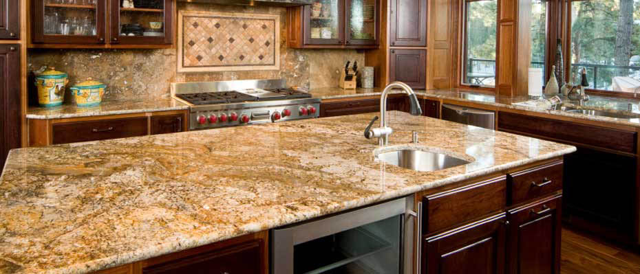 kitchen granite countertop photo