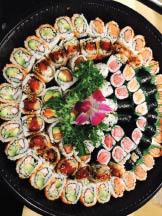 Roll Platters from Sushi-Kuu in Lake Hiawatha NJ