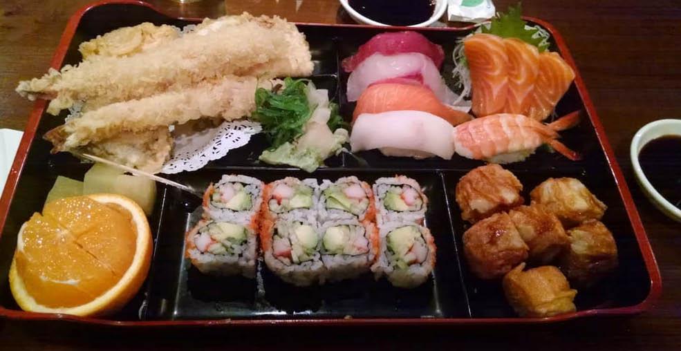 Bento Box from Sushi-Kuu in Lake Hiawatha NJ