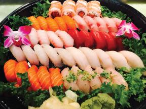 Party Tray from Sushi-Kuu in Lake Hiawatha NJ