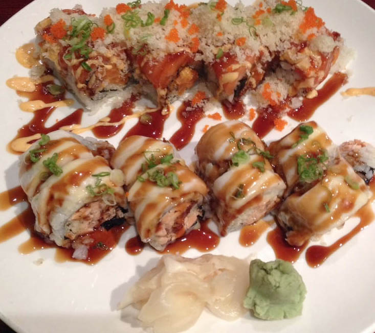 Specialty Rolls at Sushi-Kuu in Lake Hiawatha NJ