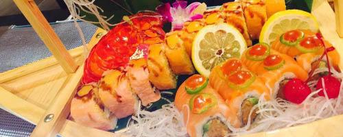 Sushi at Saporro Japanese Restaurant