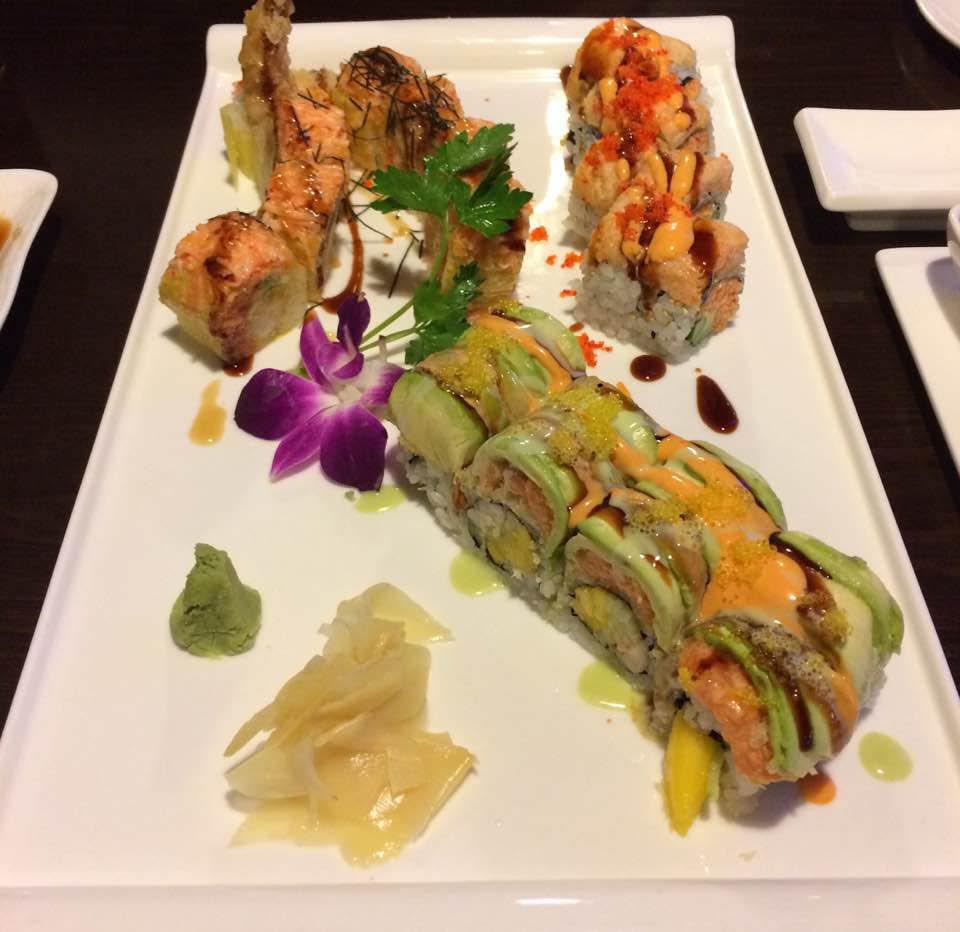 Sushi restaurant near Burnsville, MN