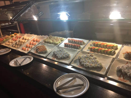 Fresh Sushi served every day