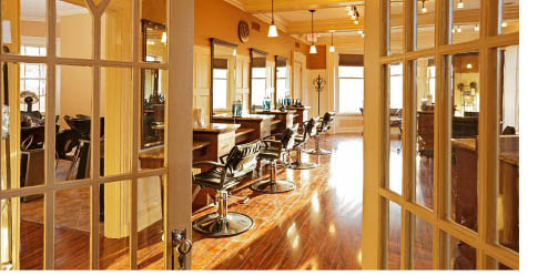 Hair salon at Suzi's Salon, Spa & Wellness in Morristown NJ