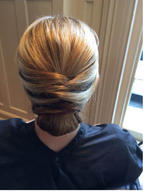 Beautiful hair styling at Suzi's Salon, Spa & Wellness in Morristown NJ