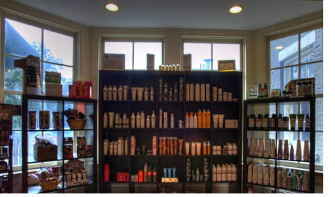 Huge selection of products available at Suzi's Salon, Spa & Wellness in Morristown NJ