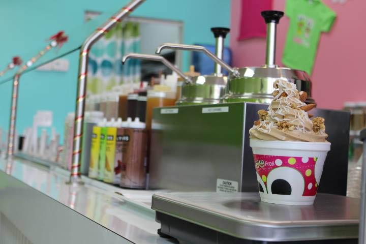 Sweet Frog, Frozen Yogurt, Ice Cream, Flavors, Dessert, Berries, Toppings,