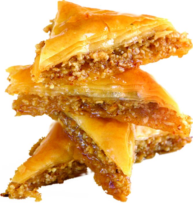 the sweet greek grill baklava