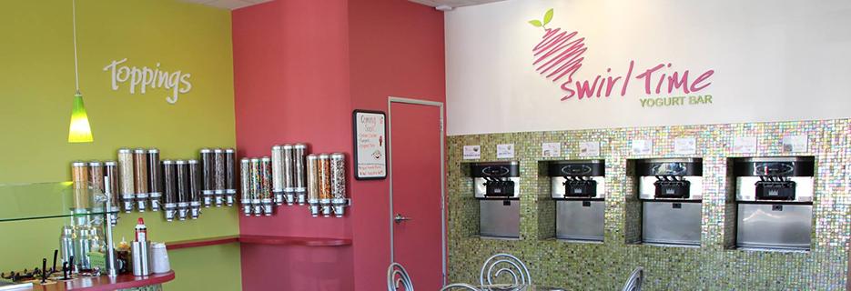 Swirl Time Yogurt Bar in Rohnert Park, CA banner