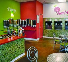 Swirl Time Yogurt Bar Interior