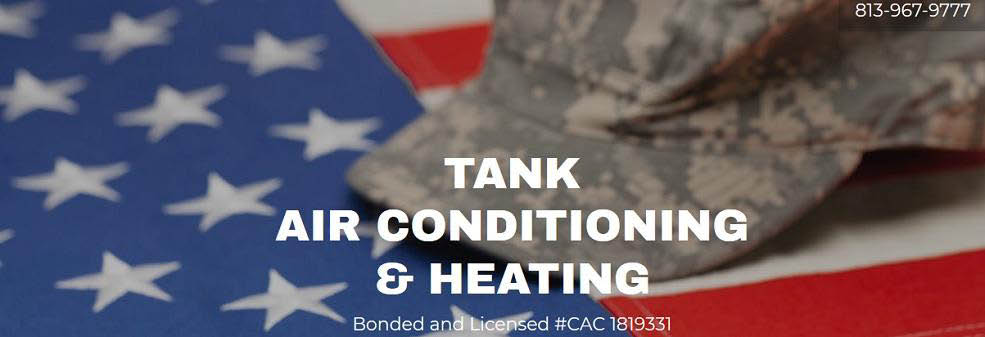 TANK AIR CONDITIONING and HEATING BANNER TAMPA, FL