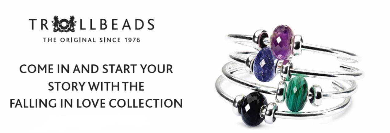 TROLLBEADS FREEHOLD RACEWAY MALL FALLING IN LOVE COLLECTION