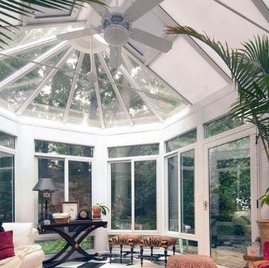 photo of TEMO conservatory sunroom from Exterior Designers Inc. in Valparaiso, IN