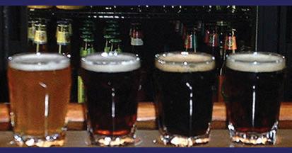 T.J. Rockwell's brew sampler